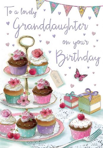To A Lovely Granddaughter On Your Birthday